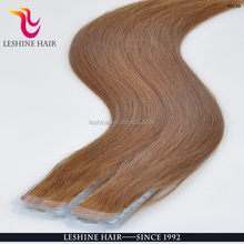Highest Quality Human Hair All Colors Skin Weft 10-32inch Indian Tape Hair Extension