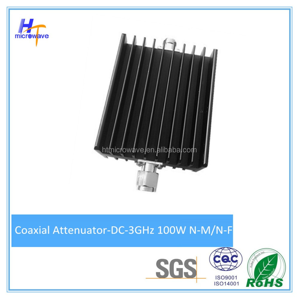 150 Watt RF Fixed Coaxial Attenuator DC-3GHz N-M/N-F