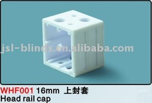 Head rail cap-16mm pvc blind components