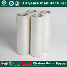 Plastic Roll Clear LLDPE Stretch Film Tablet Packaging Material