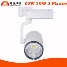 Top Quality LED Track Lamp, Dimmable 3 Phase LED Track Spotlight Lighting