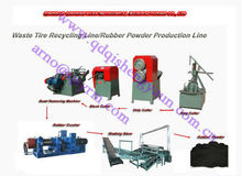 Made In China Waste Rubber Tyre Recycle Machine/Used Tyre Recycling Plant/Rubber Powder Production Line/Waste Tyre Recycling
