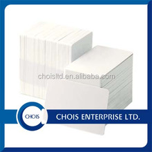 CR80 Custom Clear Credit Card Size ID White Blank Plastic PVC Cards