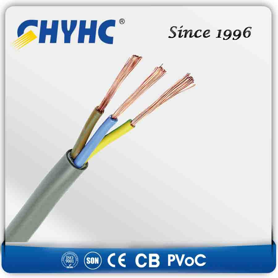 H03VV-F/FH05VV-F/H07VVF- 300/500V PVC Insulation and Jacket Annealed Copper Wire Stranded Flexible Cale