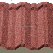 Popular European Style Slate Color Stone Coated Metal Roof Tiles