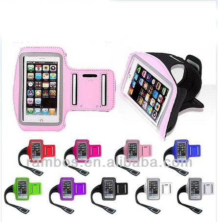 Capa Para Celular Sports Armband Running Gym Arms Band Mobile Phone Bags Cases for iPhone 5 5S