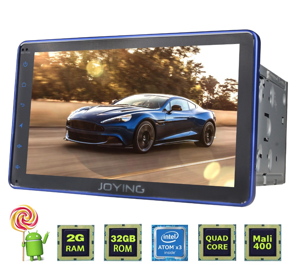 Darkeep universal blue tablet 8'' android 5.1.1 double din auto radio car dvd gps navigation radio system