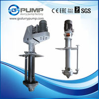 centrifugal electric vertical submersible water slurry pump for transfer sewaging