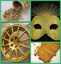 china leafing gold powder for gold metallic paint