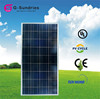 CE/IEC/TUV/UL small solar cell module 100w poly solar panel for home use