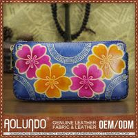 Nice Quality Leather Womens Purses/Colorful Wallets