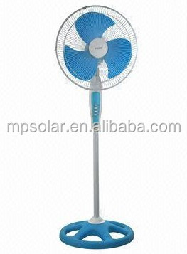 2014 rechargeable stand fan with battery cooling in summer