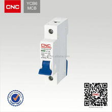 YCB6 mini circuit breaker c60 c65.China Top 500 11kv siemens vacuum circuit breaker
