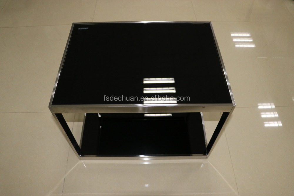 Commercial office furniture stainless steel coffee table tea table