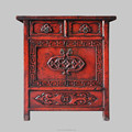 Chinese antique high glossy carved solid wood furniture