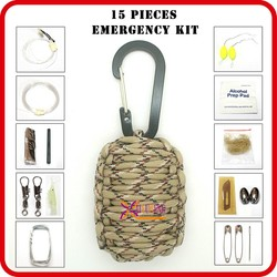 outdoor survival kit camping supplies emergency preparedness kits