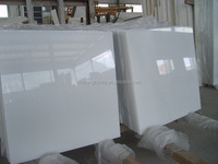 High Quality Pure White multi color Marble Tile