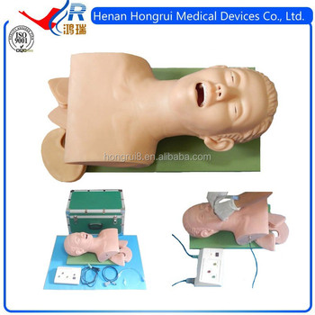 New endotracheal intubation training manikin