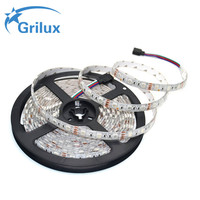 Free Sample aluminum cold white smd 2835 dc12v rigid waterproof rgb 5m led strip 5050 for decoration