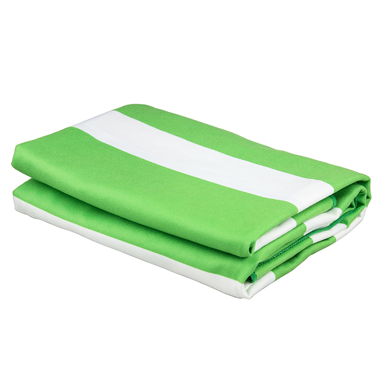 The lowest price 100%microfiber Promotional Beach Towel from china