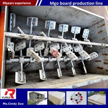 automatic waterproof mgo board making production line/automatic mgo board production machine