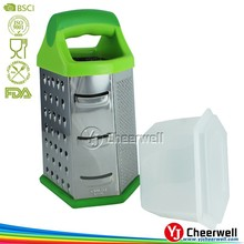 Multifunctional 6 Sizes Kitchen Grater for Vegetable