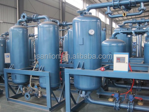 2016 high quality heatless regenerative desiccant compressed air dryer(23m3/min)