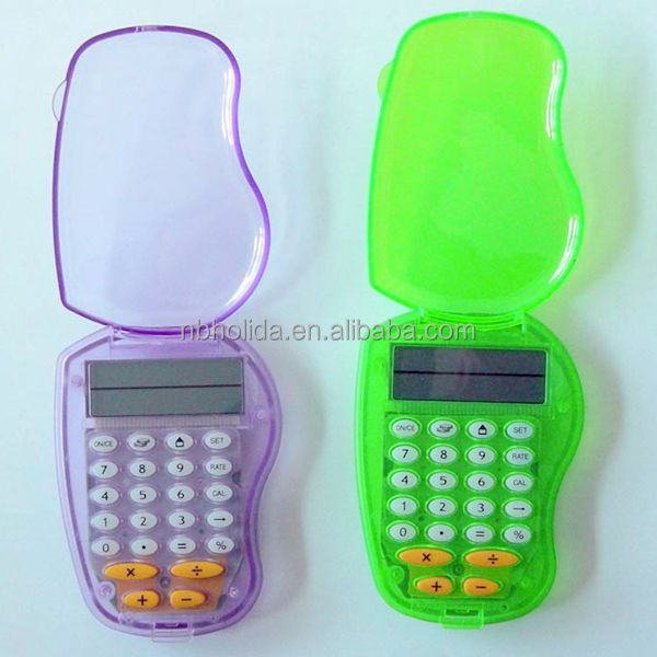 exchange rate calculator,pocket calculator with cover/ HLD-828