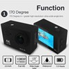 2016 new fashion wifi waterproof 4k FHD sport dv camera car dash cam car dvr