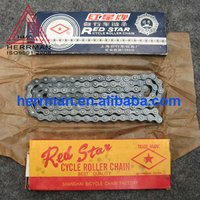 S135 red star bicycle chain
