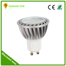 Isolated driver super bright ce rohs high cri dimmable cob gu10 mini led spot lamps