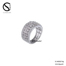 Beautiful New Design Ladies neelam stone ring G-14020