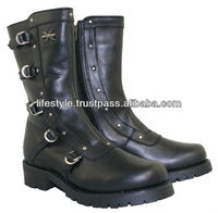 Classic Cruiser Shoes, Motorcycle Boots, Motorbike Shoes, Motor Bike Boots,