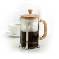 Glass Material and Coffee & Tea Sets Drinkware Type French Press Coffee Maker