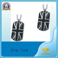 Cool accessories promotional products country flag dog tag