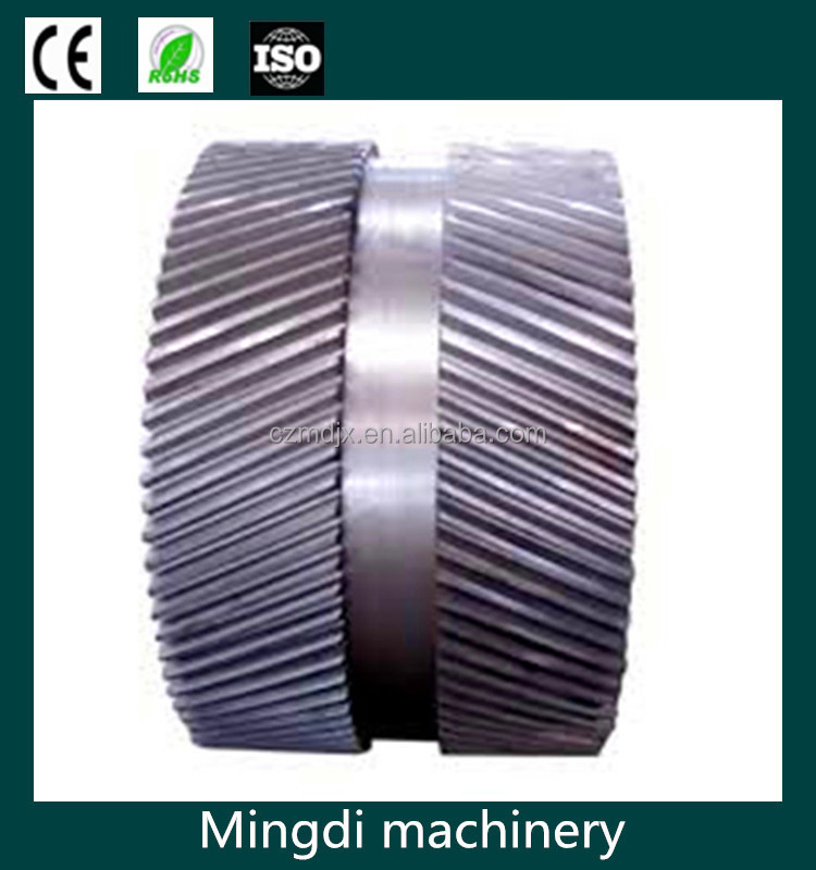 best sale oem design standard metal material double spur gears