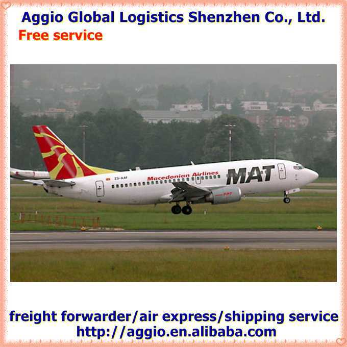 Air freight and express forwarder for young ladies jewelry