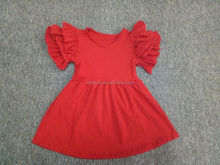 baby spring dress frock red children 2 to 13 years old girl dresses cheap