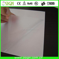 High gloss self adhesive protective pvc film / lamination film