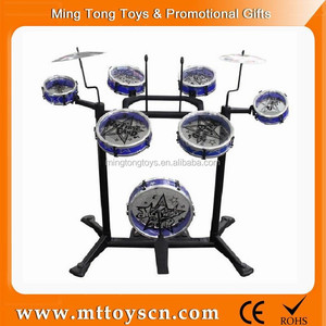 Exciting musical instrument toy kids jazz drum set