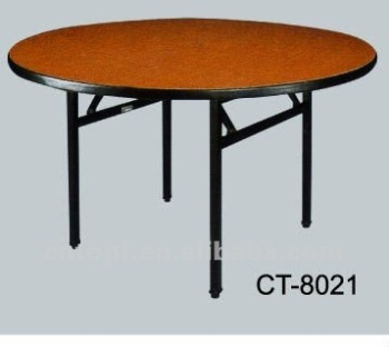 Folding restaurant dining table steel leg buy restaurant for Cuisine table retractable