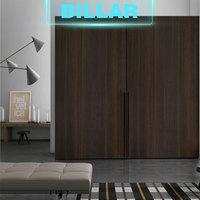 European standard 3 panel sliding wood closet doors