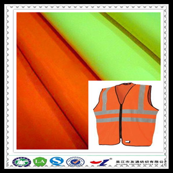100% POLYESTER EASY TO SEE FLUORESCENT FABRIC