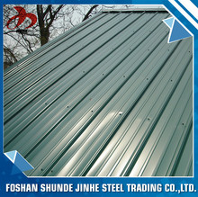 China foshan steel GB JIS ASTM corrugated metal roofing sheet for steel sheet material