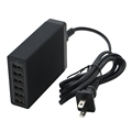 PowerPort 6 50W Wall Charger 6 USB Ports High-Speed Charging Adapter for Smartphones Tablets