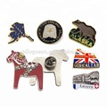 Free Design Logo Pin Badges Engraved /Enameled Bulk Custom Made Metal Badge