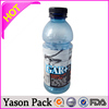 Yason pvc shrink label printing water bottle shrink lable printing 30u pvc shrink sleeve energy drink lables