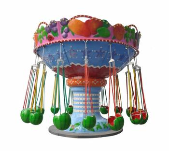 Outdoor amusement park flying chair and exciting amusements rides