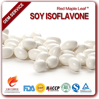 Gold Standard Soya Bean Extract Isoflavone Softgel Capsule