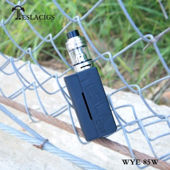 New popular mod WYE 85w black/green/blue/red/yellow/white 6 pure color vape mods arriving!